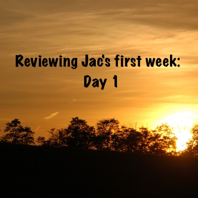 watch the videos below of Episode 1 and 2 of Jac's training