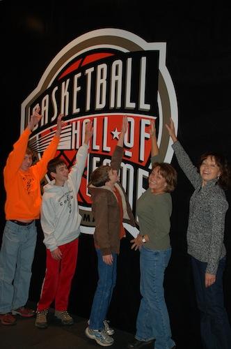 2013 Basket ball Hall of Fame