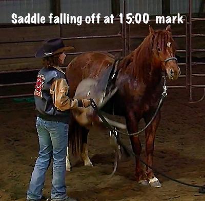 Jac saddle falling off