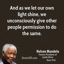 Nelson Mandela permission quote