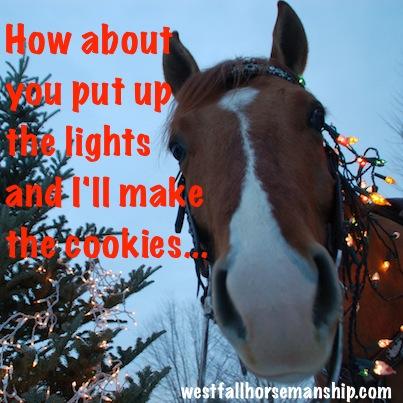 "Newt' ""you do lights, I do cookies."""