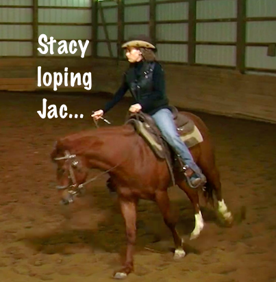 Stacy loping Jac