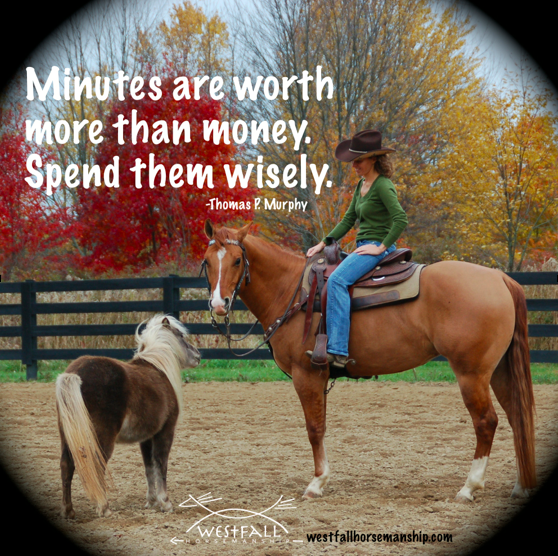 Minutes vs money quote