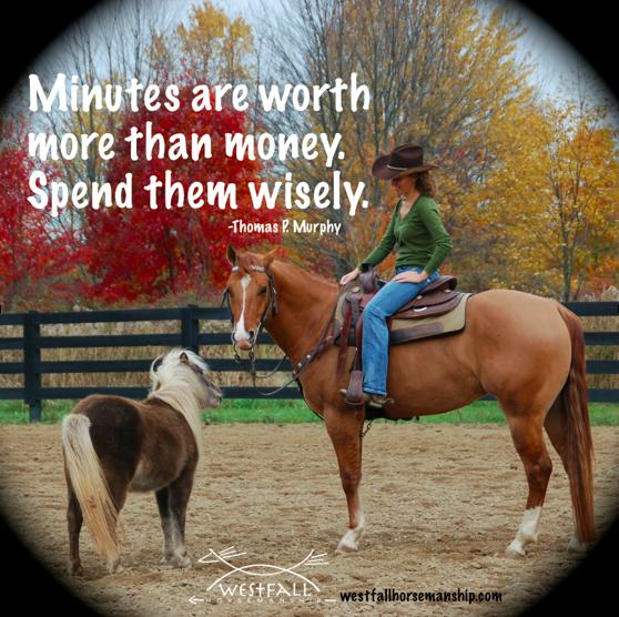 Minutes vs money quote