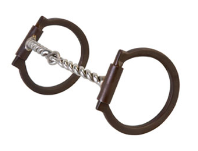 twisted snaffle