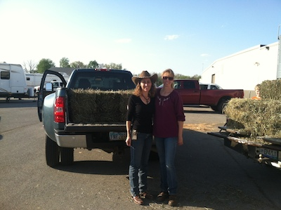 Hay in pickups