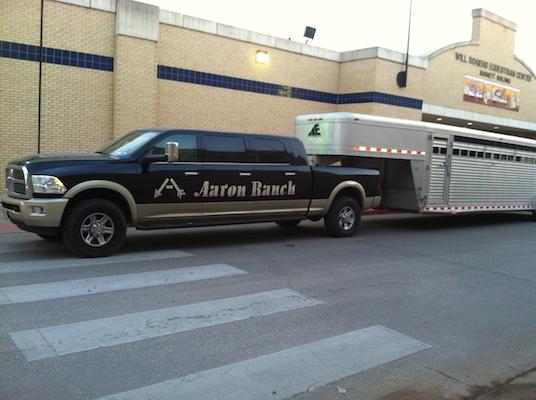 Aaron ranch truck
