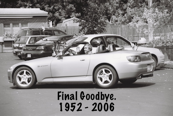His final goodbye
