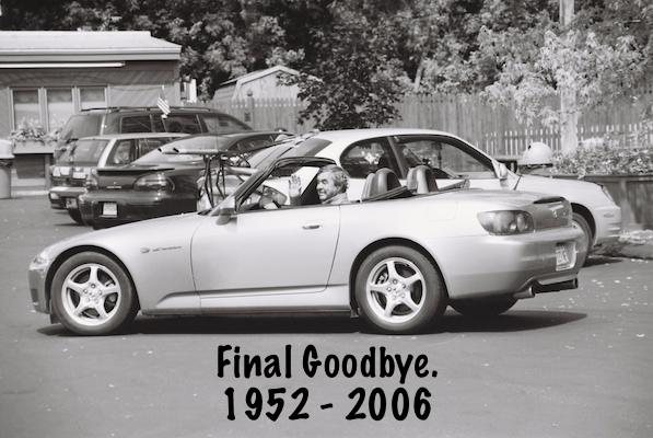 His final goodbye