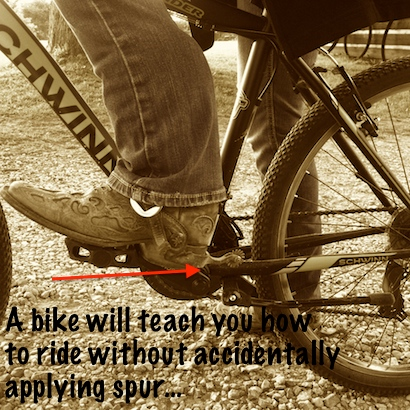 a bike will teach
