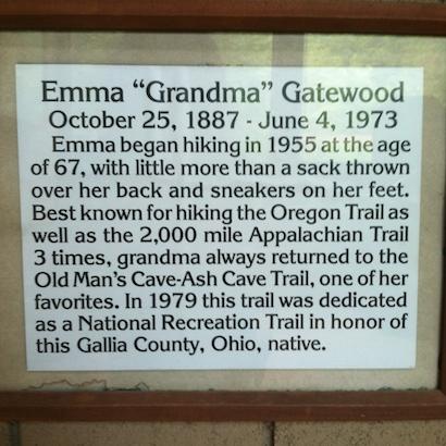Grandma Emma Gatewood