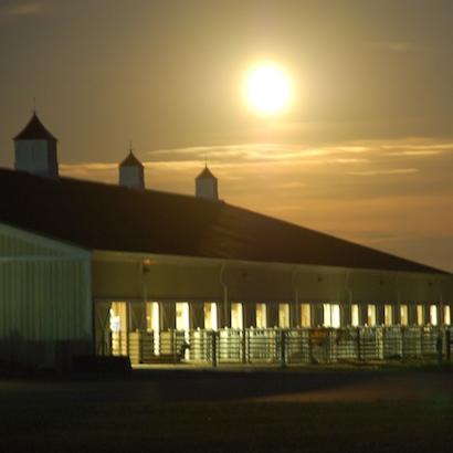 moonlight barn