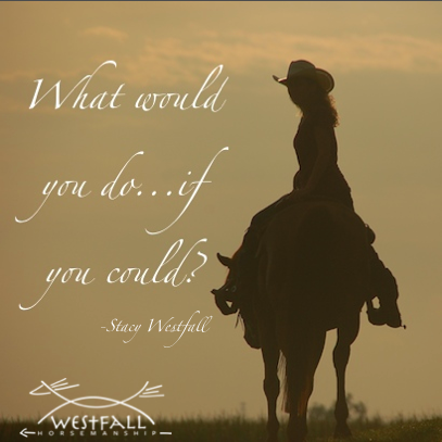 What would you do...if you could? Stacy Westfall