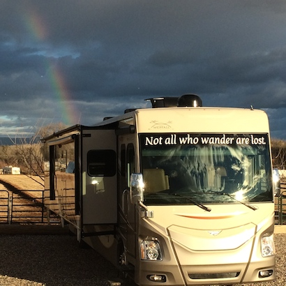 Dark side of motor home living