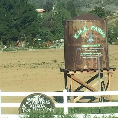 Big alfalfa sign