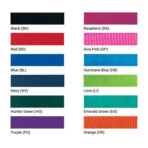 Weaver halter colors