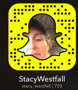 snap chat code