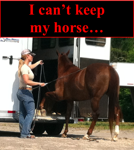 3 Ideas when you can't keep your horse