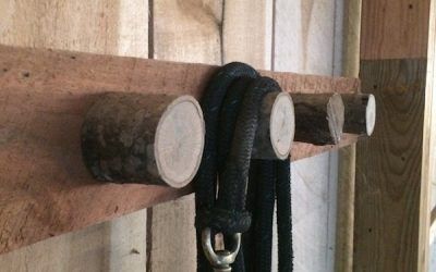 Homemade Rustic Bridle Rack Instructions
