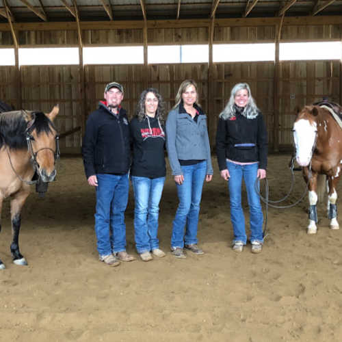 Ashley and Lisa Westfall Clinic