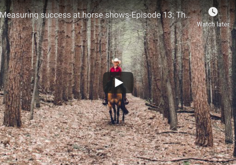 Episode 13 the trail to the world show, measuring success in the show pen