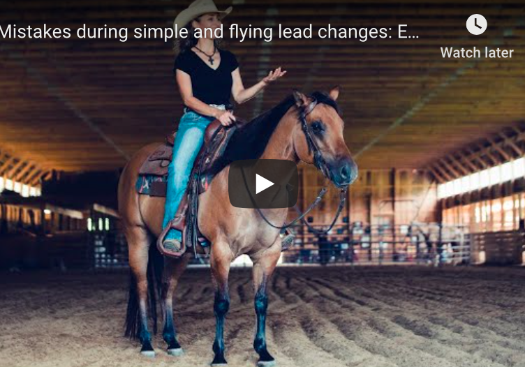 simple and flying lead changes video