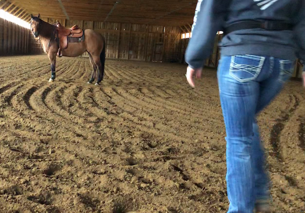 When riding horses doesn't feel good